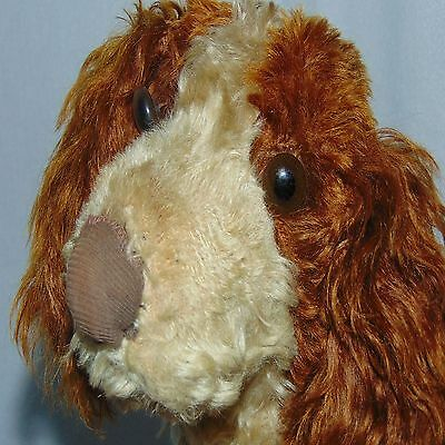 Vintage Dog Cavalier King Charles Spaniel Stuff Plush Old Life Sz Damage Figure