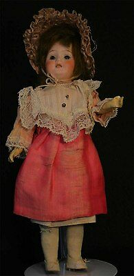 "Gebruder Heubach Antique German Bisque Doll Made in Germany. 11"" Socket Head"