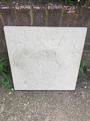 16 X Grey Stone Paving Slabs (450mm X 450mm)