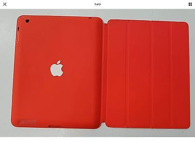 Genuine Apple Smart Case iPad 2,3 and 4 Bright Red