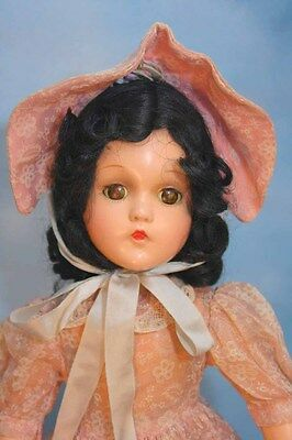 Madame Alexander Scarlett  Composition Doll in Beautiful Replaced Outfit Ca 1940