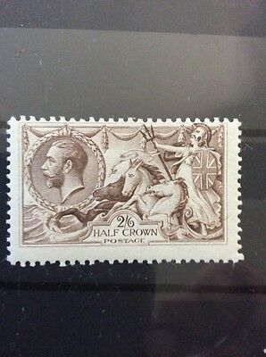 2/6 Seahorse Mounted Mint With Gum, Fine Example