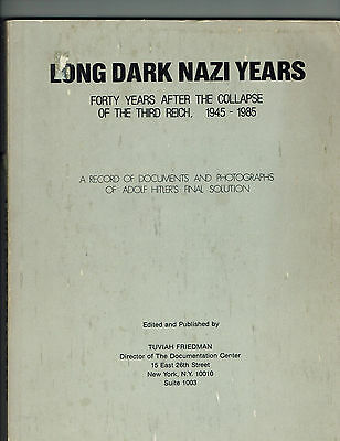 Record Documents & Photos Adolf Hitler's Final Solution, 40 years after book