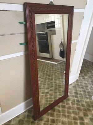 Mirror - wooden decorative full length