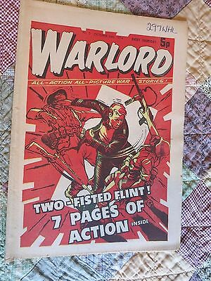 WARLORD comic No 5, Oct 26th 1974 very good condition