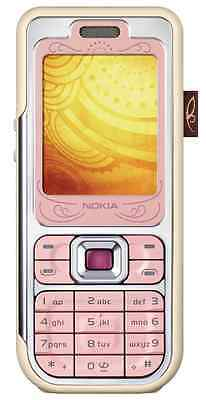 NOKIA 7360 Pink Handy Dummy Attrappe  Not real mobile phone ☆ RARITÄT