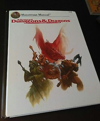 tsr monstrous manual, advance dungeons and dragons