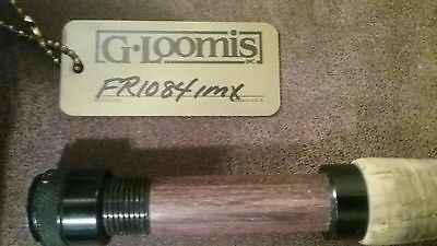 G. Loomis Fr1084 Imx Fly Fishing Rod. 9' #4 Line 2 Piece With G. Loomis Hard...