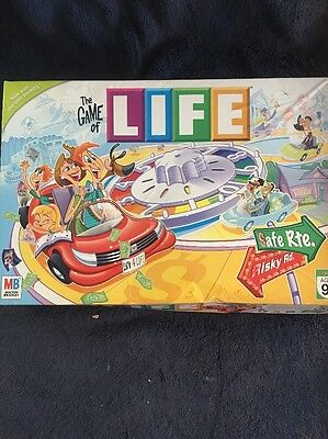 The Game Of Life Board Game 2007 Milton Bradley