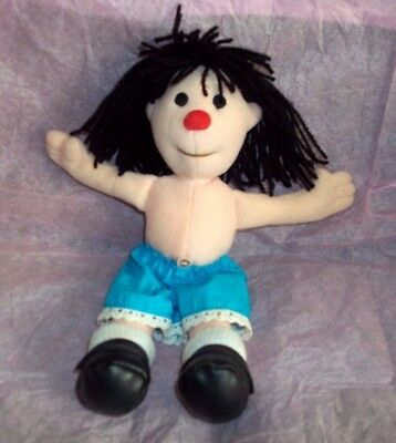 "Molly Doll 9"" from Big Comfy Couch, 1997 No Dress From Commonwealth"
