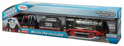 Thomas & Friends Trackmaster Motorized Railway Merlin The Invisible *BRAND NEW*