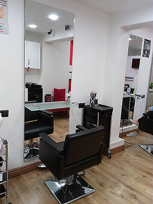 Cubix Styling Unit Hairdressing Station with Full Length Mirror inc. Chair