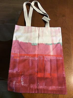 Anthropologie Tote Bag NWT Pink Orange