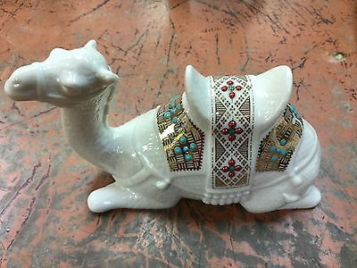 LENOX China Jewels Collection LAYING KNEELING Nativity CAMEL 1994 USA WOW!