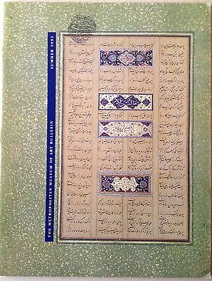 The Metropolitan Museum of Art Bulletin Summer 1992  Islamic Calligraphy