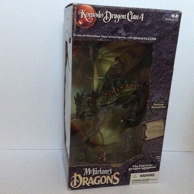 Mcfarlane's Dragons Series 4: The Fall Of The Dragon Kingdom    DELUXE BOXED SET