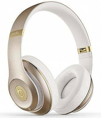 Beats by Dr. Dre Studio 2 Headband Wireless Headphones - Champagne Gold-SEALED