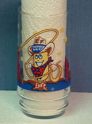 Advertising Hostess Twinkie The Kid Collectable Character Glass Tumbler