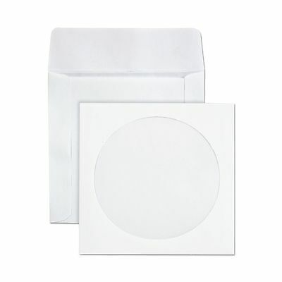 Quality Park CD/DVD Envelopes White Pack of 100 (62903)