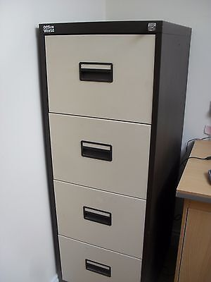 Office World 4-Drawer filing cabinet
