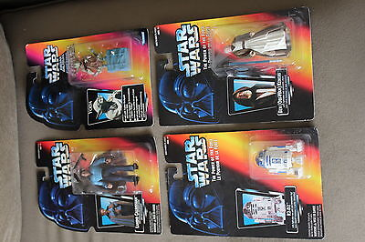 4 The power of the Force Orance Star Wars Carded Lot 1