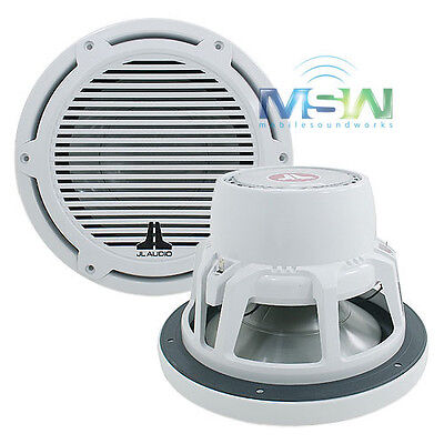 """Jl Audio® M10W5-Cg-Wh 10"""" Marine / Boat Subwoofer Sub Woofer Classic Grill White"""