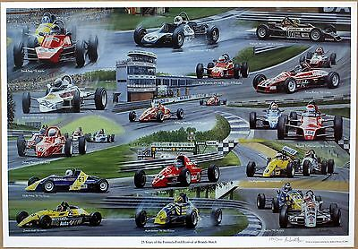 Formula Ford Festival - Limited Edition Print by Andrew Kitson