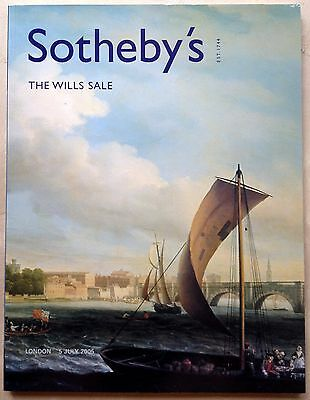 Sothebys Catalog THE WILLS SALE COLLECTION Old Master Paintings 7/5/05 LONDON UK