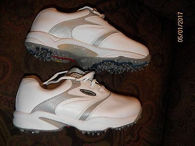 NEW Foot Joy - eComfort - Womens Size 7 Golf Shoes Style 98514 White/Gray NO BOX