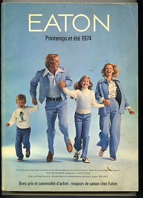 French EATON 1974 SPRING Store Catalog 804 Pages ~ CLEAN