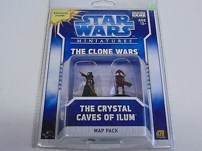 Star Wars Miniatures The Crystal Caves Of Ilum New Sealed Hc447