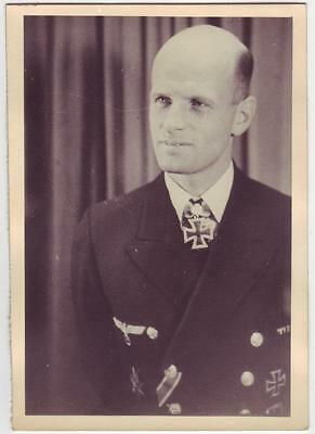 GERMAN WWII PHOTO FROM RUSSIAN ARCHIVE: NAVY OFFICER - Wolfgang Lüth