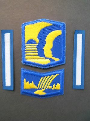 Girl Guides Canada  4 Badges Camping Profficiency Rank Scouts Brownies Guiding