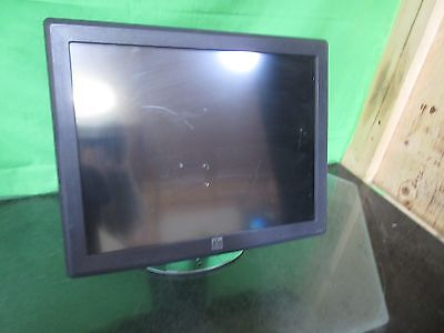 """ELO E210772 T 15"""" LCD Touch Monitor ET1515L-7CWC-1-GY-G w/ stand ~"""