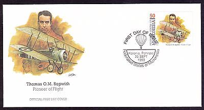 Micronesia 1993 FDC Sir Thomas Sopwith