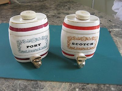 Vintage Royal Victoria Wade Pottery - Port & Scotch Barrel