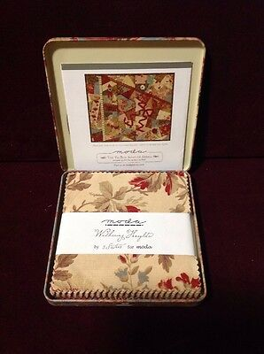 Withering Heights Charm Square Quilt Kit & DVD Moda The Tin Box Sampler Series