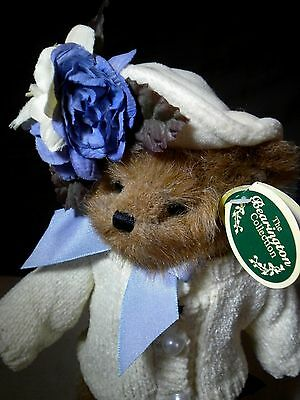 """HTF Bearington Collection Limited #1472 """"Sandy"""" Sweater Hat 10"""" Bear Retired"""