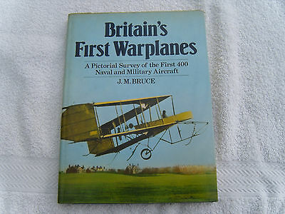 Britain's First Warplanes: A Pictorial Survey of the First 400 aircraft.