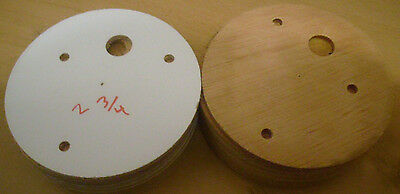 Sankyo Music Box MOVEMENT WOODEN  BELL BASE-2 3/4 inch- LOT OF 20 BASES