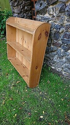 EXCELLENT CONDITION Wall Mounted Oak Shelving Unit