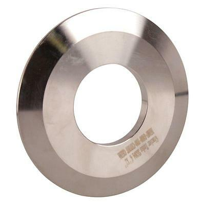 End Cap | Tri Clamp/Clover 4 inch w/ 2 Weld Cutout - Sanitary SS304 (2 Pack)
