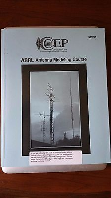 ARRL Antenna Modelling Course based on NEC2 and similar programs.