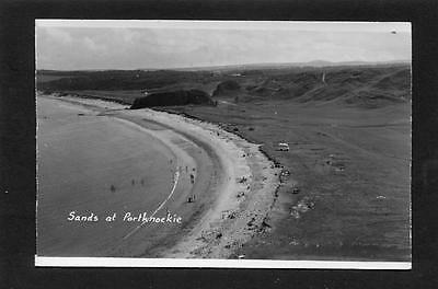 Portknockie Banff - View of The Sands RP c1960