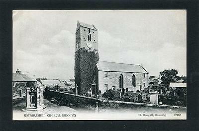 Dunning Perthshire - The Established Church p/u 1909