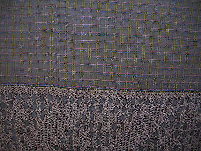 Antique Table Cover & Table Runner Chochet Lace /Ecru