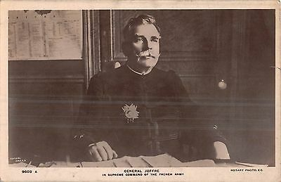 POSTCARD  PERSONS   MILITARY   General  Joffre