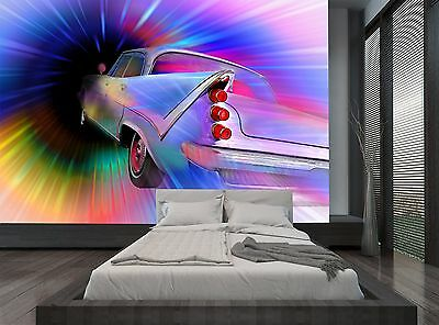 Different Colours Fantastic Car Wall Mural Photo Wallpaper GIANT WALL DECOR