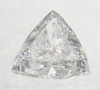 0.04 Carat D Color VVS2 Triangle Natural Loose Diamond For Jewelry 2.79X2.70mm