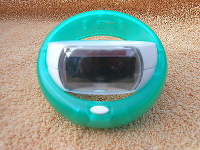 Green Funky Travel Alarm Clock - Battery Included